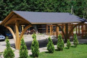 Dachlösungen für einen Holz-Carport